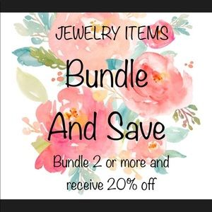 🔥🔥JEWELRY SALE🔥🔥BUNDLE 2 OR MORE FOR 20% OFF❣️